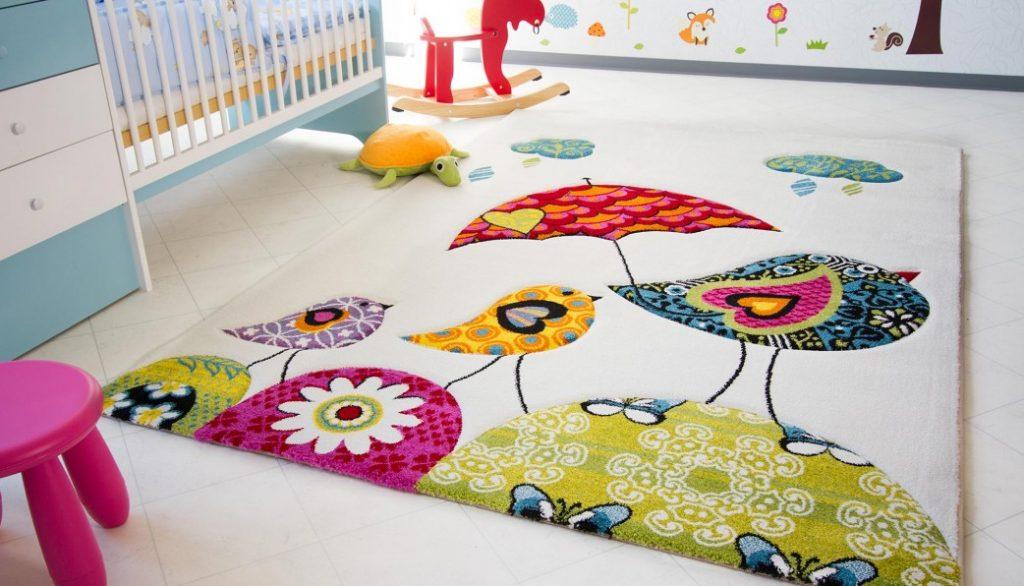 Thảm sàn cao su họa tiết cho bé yêu.