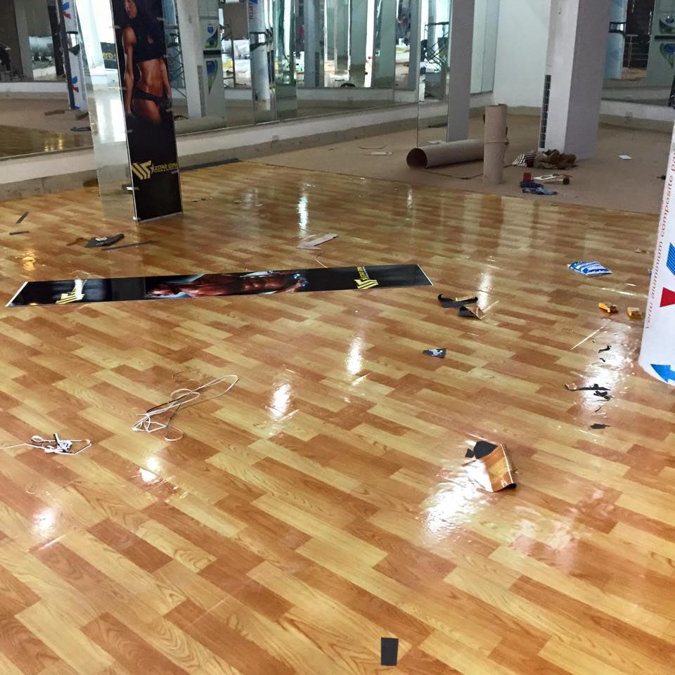 Thảm trải sàn nhựa pvc 3