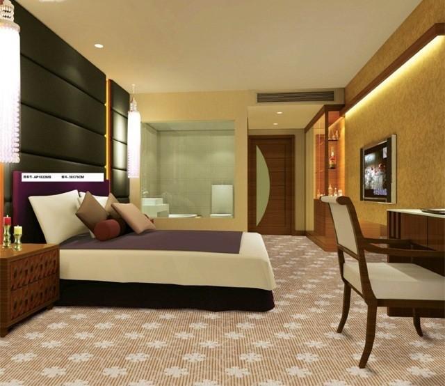 Thảm trải sàn phòng ngủ sang trọng