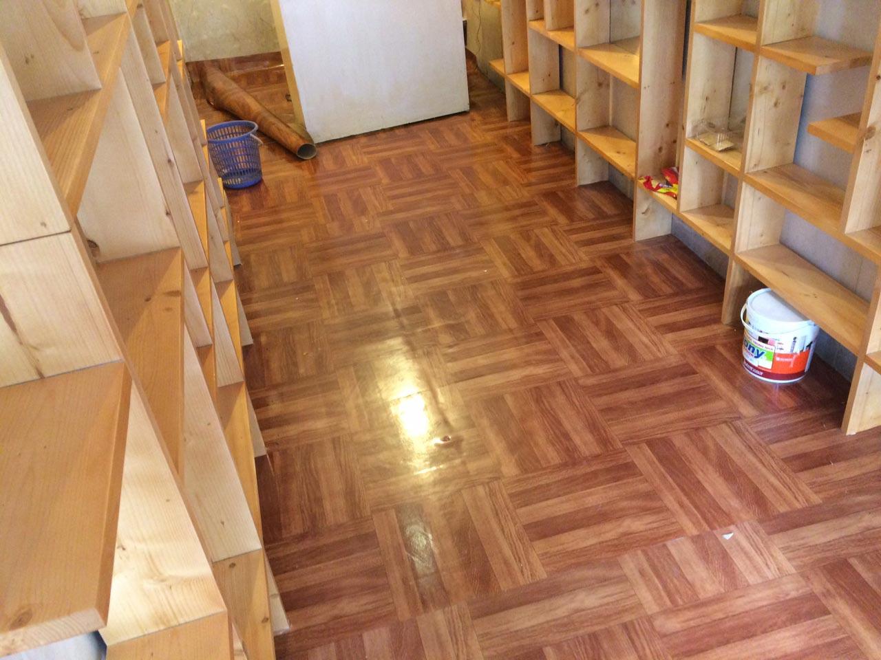 thảm trải sàn chống nước 2