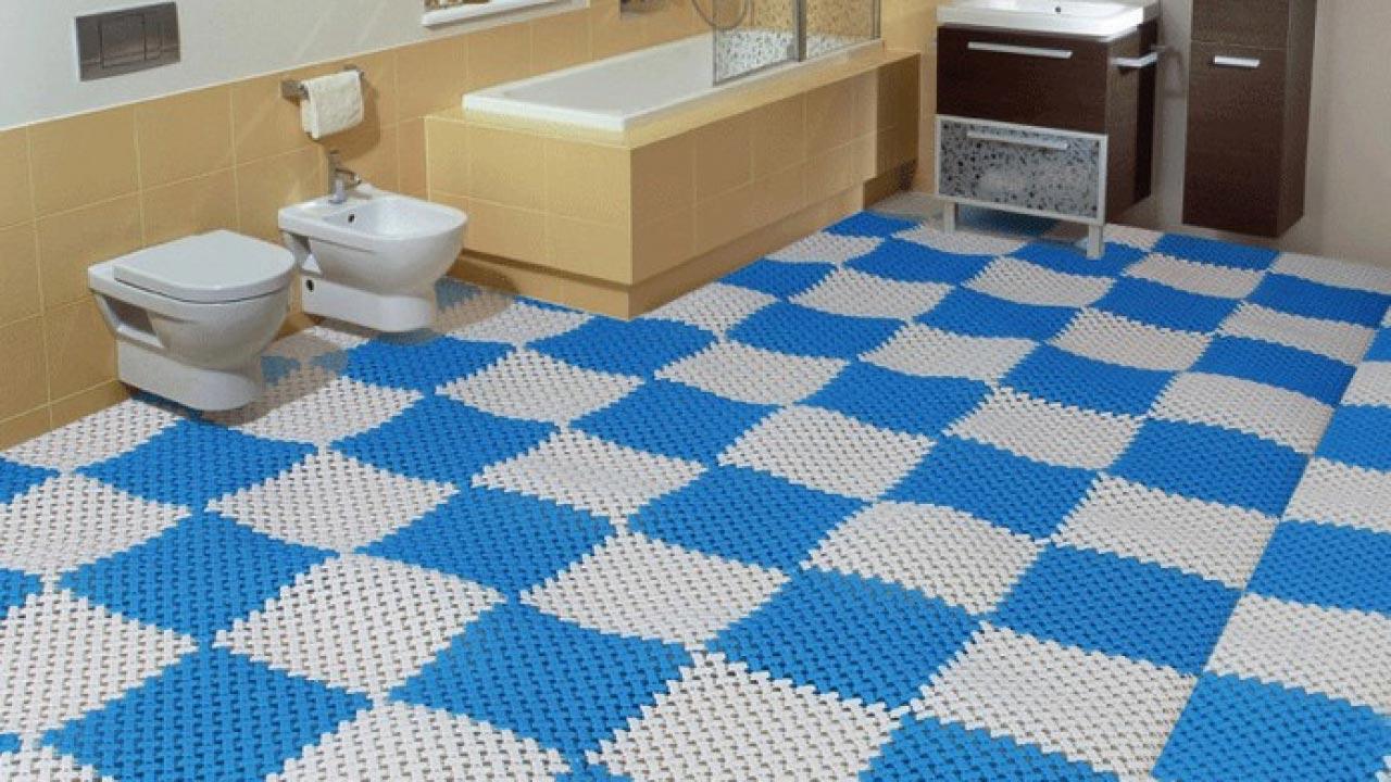 thảm trải sàn nhà tắm 1