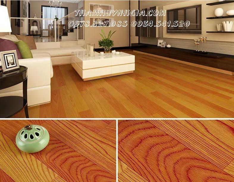 simili trải sàn nhựa giả gỗ cho phòng ngủ