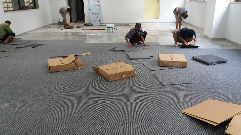 thảm trải sàn nhà xưởng 3