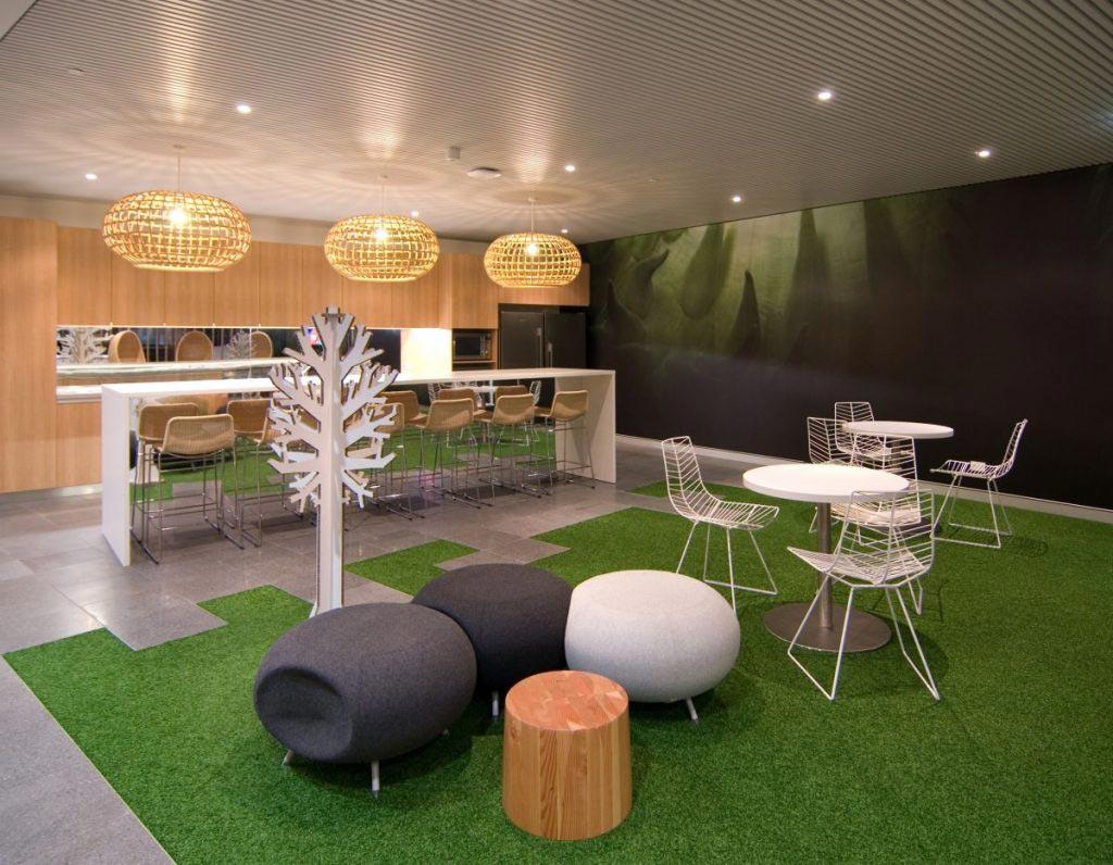 thảm trải sàn quán cafe 2